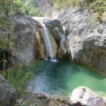 Fluß Siurana