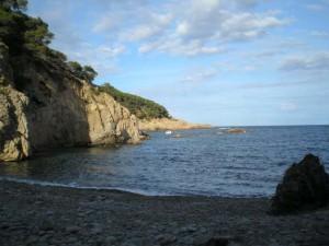 Bucht und Strand Cala Pedrosa
