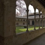 Cloister of the monastery of Sant Joan de les Abadesses