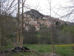 Dorf La Roca, in den Pyrenäen