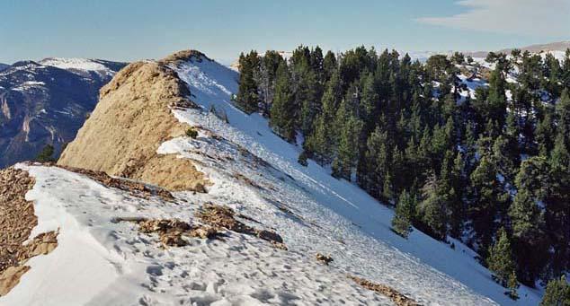 Gebirge Serra d'Ensija