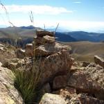Gipfel des Bacivers-Berges