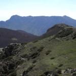 Vom Gipfel Matagalls aus in Richtung Süden