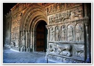 Westportal von Santa Maria de Ripoll