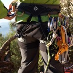 Rope climbing in Montserrat