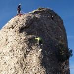 Montserrat, un lugar ideal para observar a los escaladores