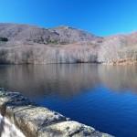 Kleiner Stausee bei Santa Fe del Montseny