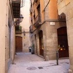 Streets in the Gothic Quarter