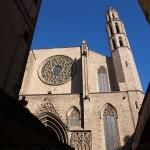 Gothic church Santa Maria del Mar