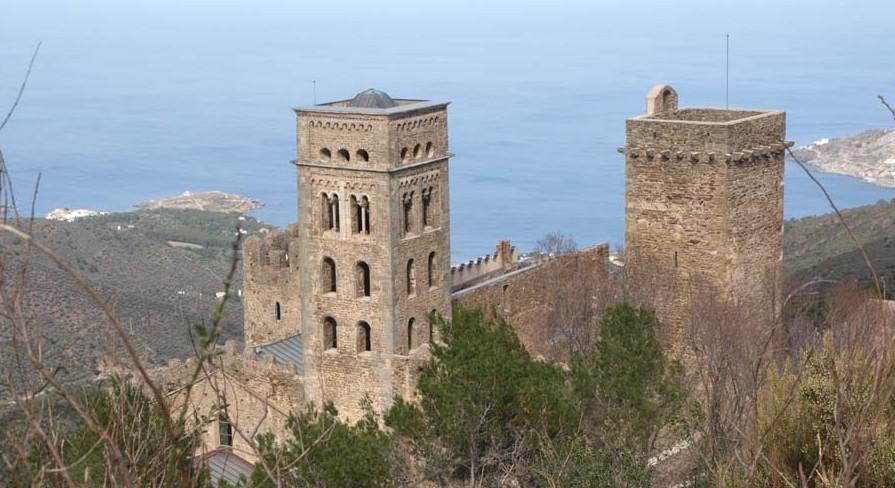 Romanisches Kloster Sant Pere de Rodes