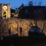 Mittelalterliche Brücke in Besalú