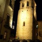 Romanischer Glockenturm in Bealú