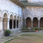 The cloister of Girona's Cathedral