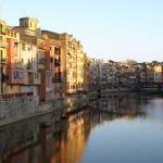 Girona and river Onyar