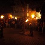 Fire festival in Taüll, in the beginnings of July