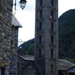 Kirchturm von Santa Eulalia d'Erill la Vall