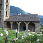 Romanische Kirche Santa Eulalia d'Erill la Vall
