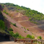 Vulkanlandschaft in der Nähe von Olot