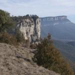 Die Felswände bei Rupit