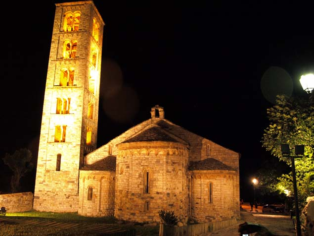 Romanesque church in Sant Climent de Taüll
