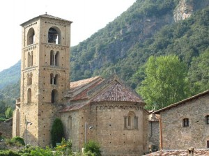 Romanesque church in  Beget