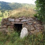 Dry stone cabin