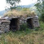 Steinhütten in La Roca