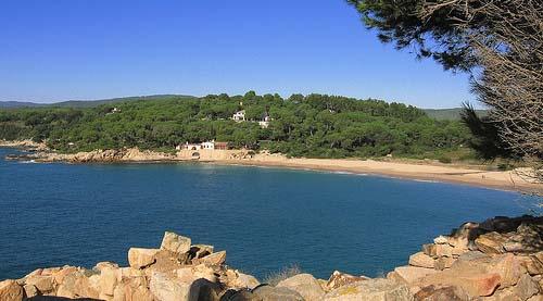 Strand platja del Castell