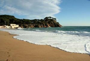 Beach Platja del Castell