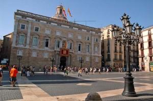 Palau de la Generalitat, Sitz der katalanischen Regierung