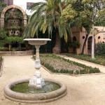 Gartenanlage an der Av. Tibidabo
