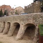 Strassenbögen von Gaudí