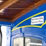 El famoso tranvía azul