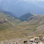 Weite Aussicht in 2900 m Höhe