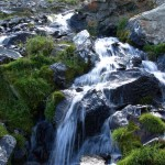 Fontalba, Quelle eines Gebirgsflusses