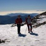 Im Winter auf dem Puigmal