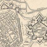 Plano de la Ciudadela de Barcelona