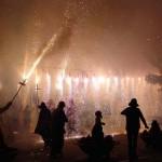 Nächtliches Feuerfest Correfoc