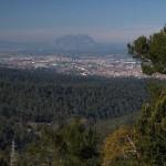 Montserrat, seen from Collserola