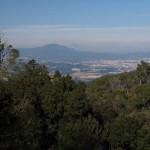 Ausblick nach Norden von Collserola aus