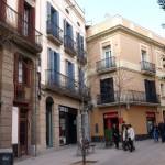 Die Haupstrasse des ehemaligen Dorfes Sarrià