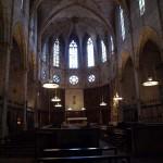 Inneres der Klosterkirche von Pedralbes