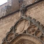 Wappen des Hauses Montcada im Kloster von Pedralbes