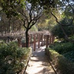 Un parque en Montjuic