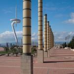 Olympia-Gelände auf dem Montjuic