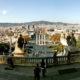 Herrlicher Ausblick vom Montjuic auf die Stadt