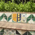 Im Garten des Klosters von Pedralbes