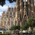 Tempel Sagrada Familia in Barcelona
