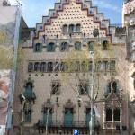Haus Casa Ametller von J. Puig i Cadafalch, im sog. Häuserblock der Zwietracht