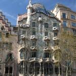Haus Casa Batlló von Antoni Gaudí